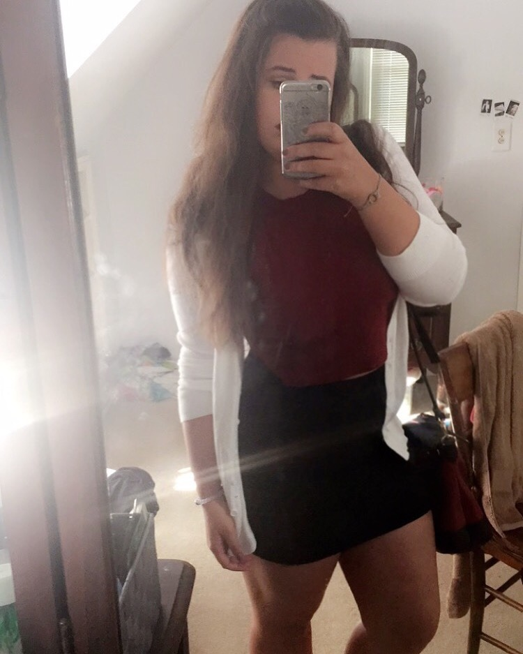 selfie porno de belle fille nue du 43